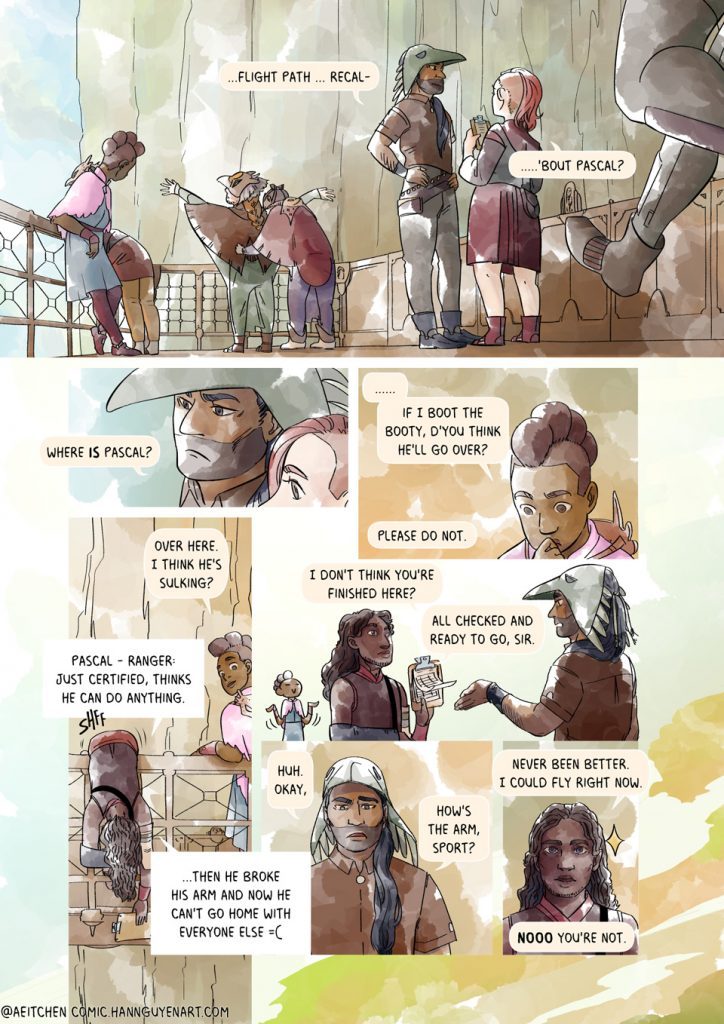 Finding Feathers Comic